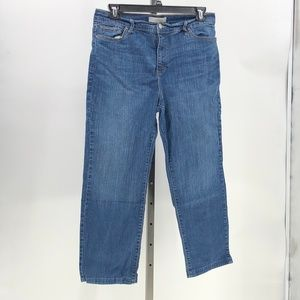 Levi's 512 perfectly slimming straight jeans 16